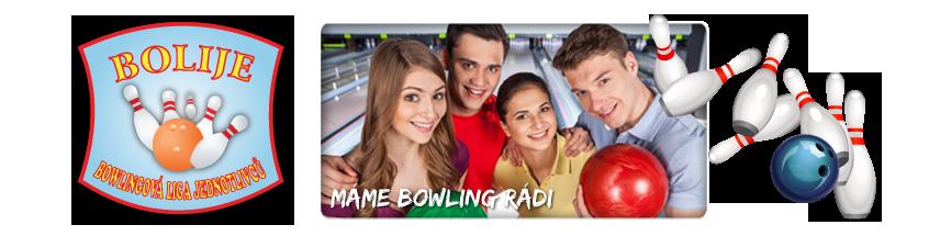 Bolije – Bowlingová liga jednotlivců